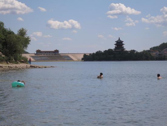 The Ming Tombs Reservoir: vista