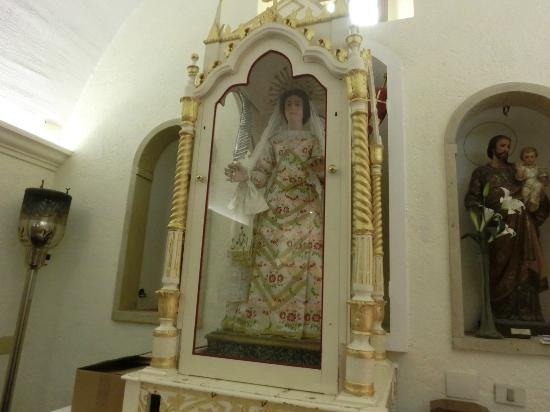 Villanovaforru, Italia: Interno alla chiesa