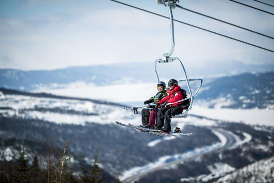 Marble Mountain: Riding the Lightning Express (Blow Me Down Mountains background)