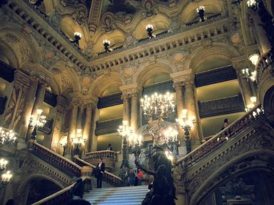 Paris, Prancis: Entrada Palais Garnier