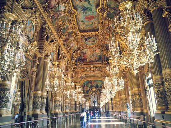 Paris, Prancis: Corredor Palais Garnier