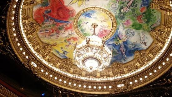 Paris, Prancis: Chandelier Palais Garnier
