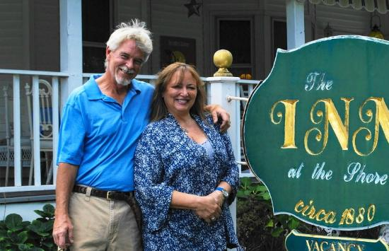 The Inn at the Shore Belmar: Bill and Linda Neely, Innkeepers