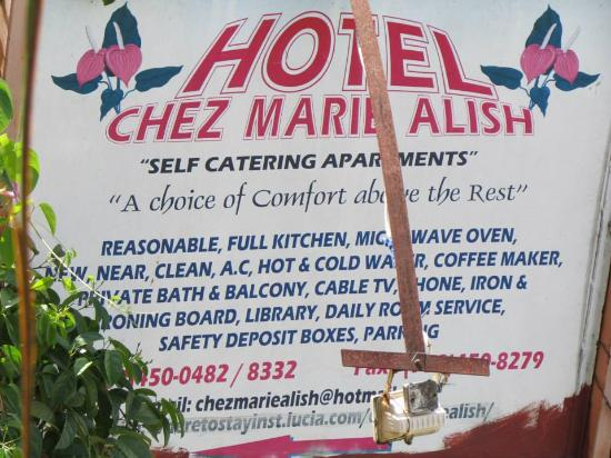 Hotel Chez Marie Alish: Sweet place to stay