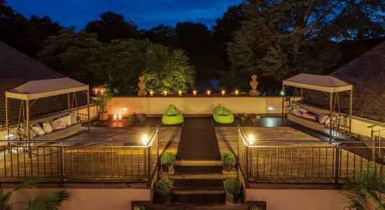 Nells Park Hotel: Dachterrasse Wellness