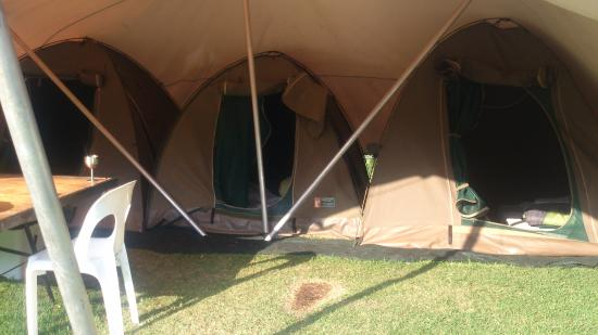 Wolfkop Camping Villages: Tents