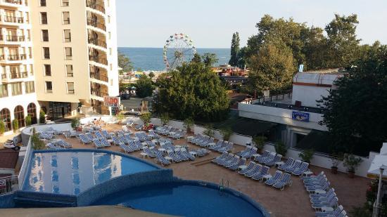 Hotel Erma: Widok z pokoju