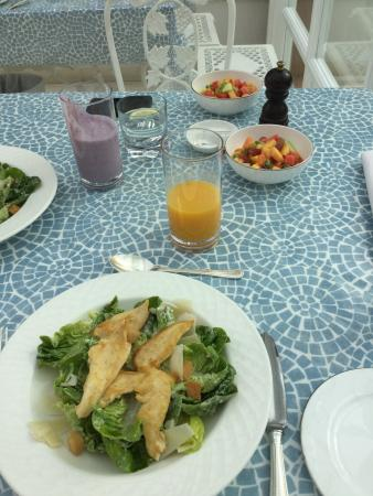 Restaurant at Summer Lodge: Meals, spa eat, relax and chill. Expensive but something to save for