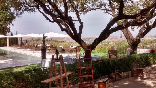 View From La Casona Restaurant Picture Of El Cigarral De Las