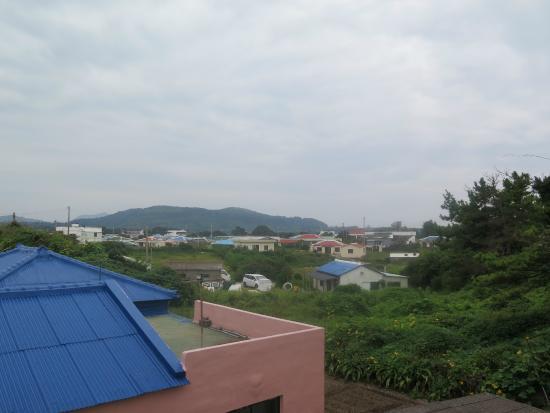 Feliz Town Hotel : view outside hotel