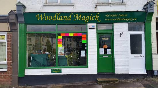 Gillingham, UK: Woodland MAgick shop