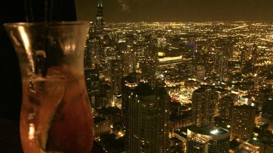 city view at night - Picture of The Signature Room at the 95th ...