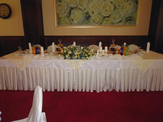 Hotel Cristal Park Dabrowa Tarnowska: Top Table