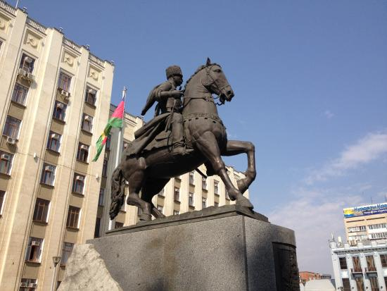 Monument to Kuban Cossacks
