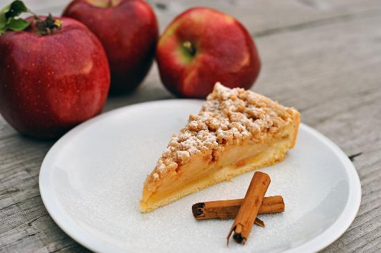 Agriturismo Il Maggiociondolo : Torta di mele del Maggiociondolo