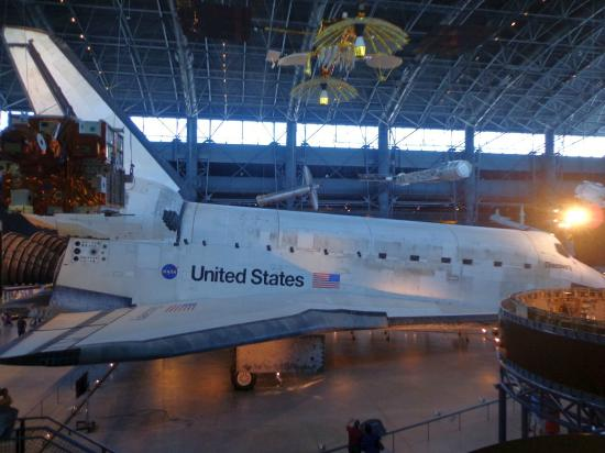 Smithsonian National Air and Space Museum Steven F. Udvar-Hazy Center: 1