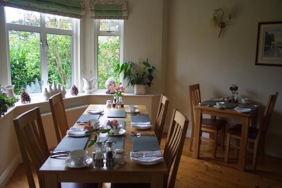 Old Station House B&B: Dining room