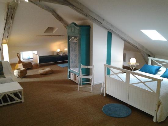 Boulogne-sur-Gesse, Francia: Suite familiale Bord de Mer