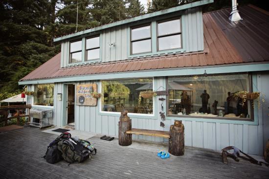 Baranof Wilderness Lodge : The main lodge.