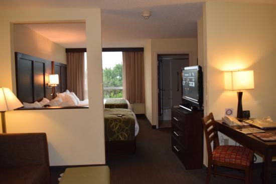 Comfort Suites Weston  - Sawgrass Mills South: estar y camas