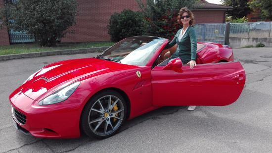 giro in ferrari - picture of pit lane red passion, maranello
