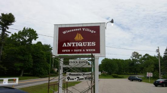 Wiscasset, Μέιν: Avalon Antiques Market