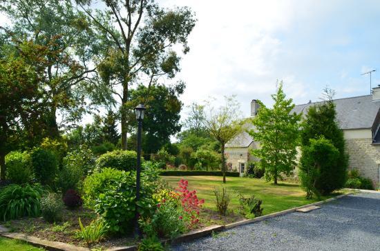 Mandeville-en-Bessin, Frankreich: tuin