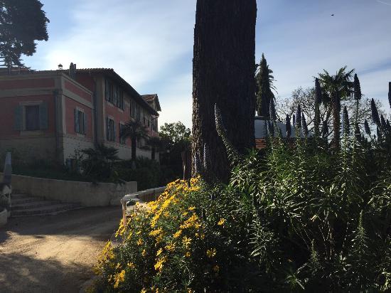 Chambres D 'Hôtes Sérénita Di Giacometti: Hotel v krásné zahradě