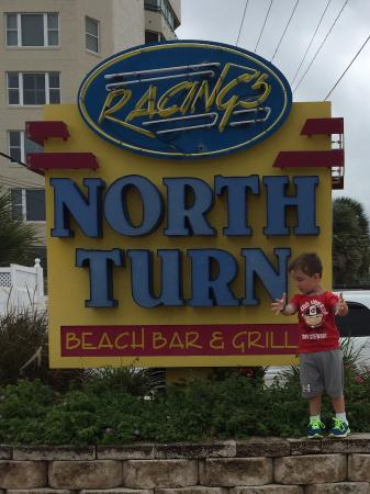 Racing's North Turn: Grandson first time and loved it