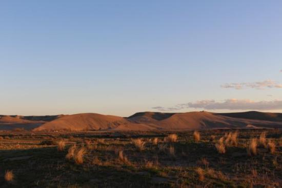 Bruneau Dunes at Sunset