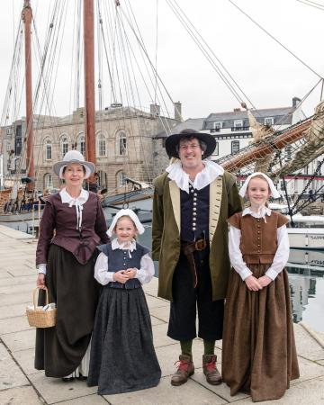 Plymouth pilgrims picture of mayflower steps plymouth tripadvisor
