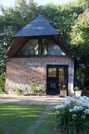 """Neville, Frankrike: """"Unser Haus im Garten"""""""