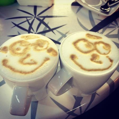 Gelateria Cantonati : Coffee with a smile