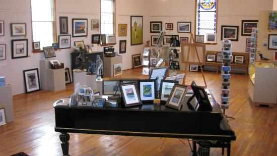 Indian Brook, Canada: Inside the Gallery we have 25 Artist's work, most of whom call Cape Breton home.