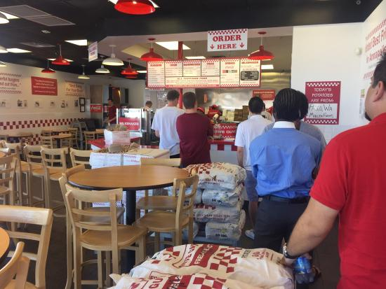 Five guys tucson 2802 n campbell ave restaurant for Mt lemmon cabin rentals pet friendly