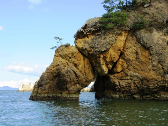 Sagakei Cliff Pleasure Boat: 嵯峨渓 象の鼻
