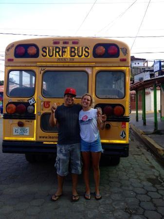 Surf Bus Nicaragua