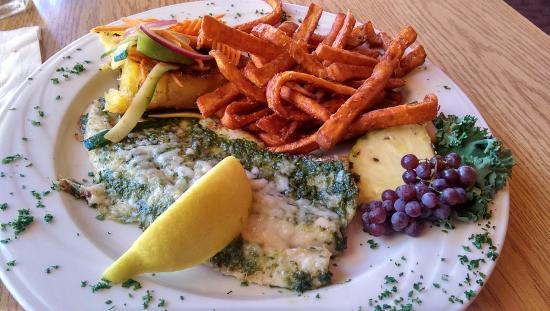 The Shoreline: Pesto whitefish
