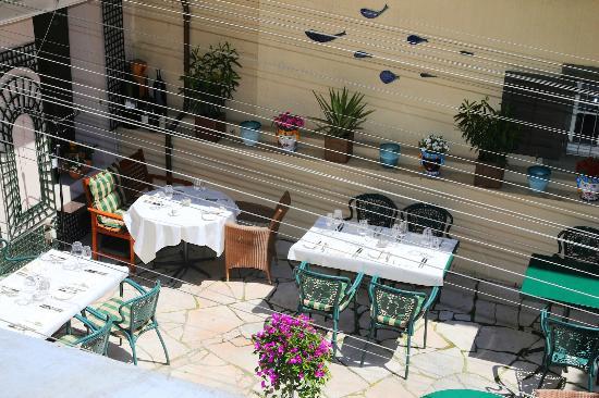 Lindenhofkeller: Terrace