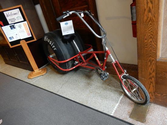 Deke Slayton Memorial Space & Bicycle Museum: As  you enter the museum