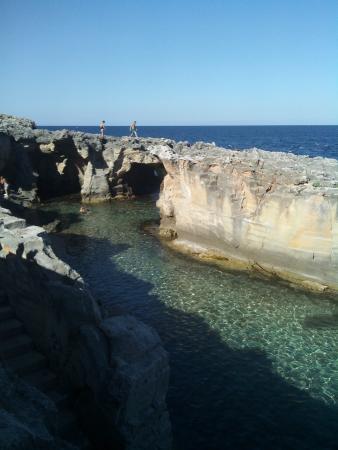 Piscine naturali foto di piscina naturale di marina serra tricase tripadvisor - Marina serra piscina naturale ...