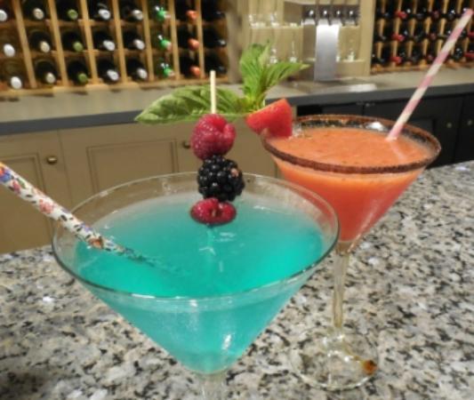 Deerfield Inn : Spring martinis