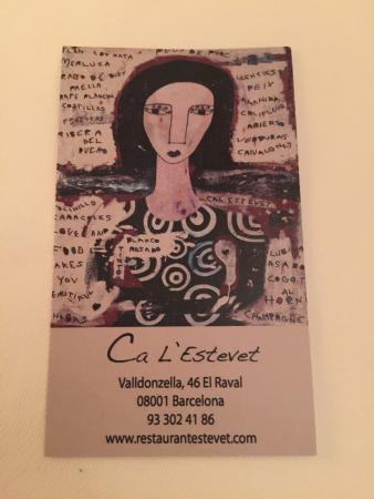 Restaurant Ca L'Estevet: photo9.jpg