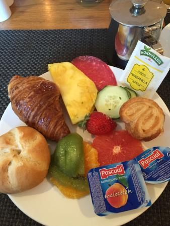 Alanda Club Marbella: My breakfast every morning
