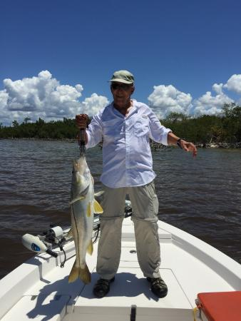 Captain Houston Brown - Private Charters: Nice Everglades Snook