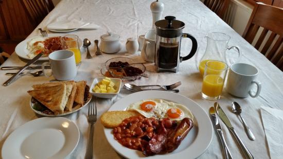 Greenacres B & B: delicious breakfast ...