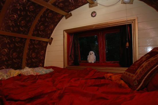 Hoarwithy, UK: Our cozy bed