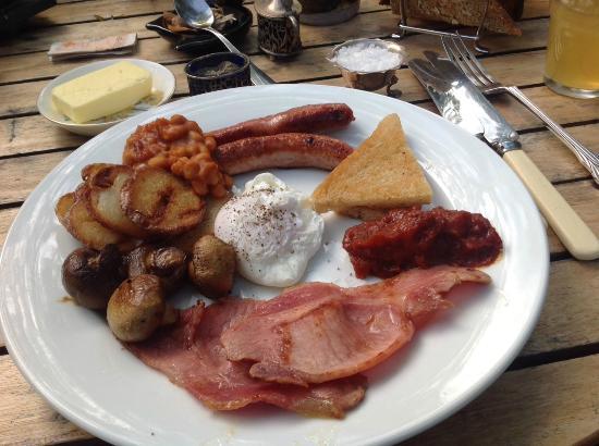 Hoarwithy, UK: Breakfast-yumm!