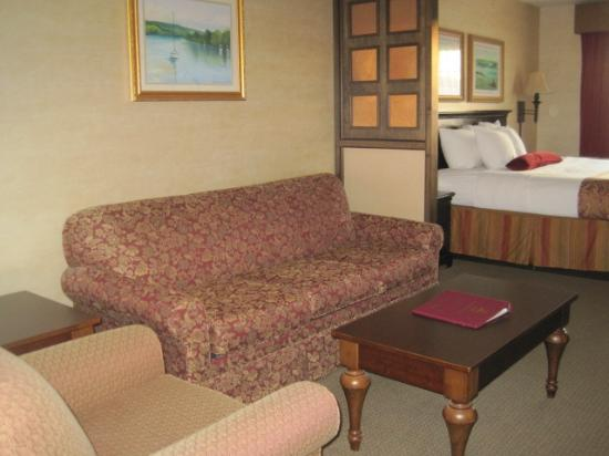 BEST WESTERN PLUS Vineyard Inn & Suites: Very roomy