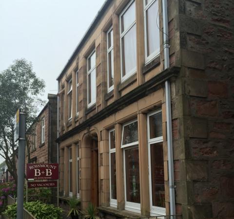 Rossmount Guest House : The Rossmount on Argyll Street
